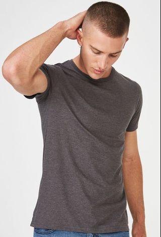 Cotton on dark grey shirt