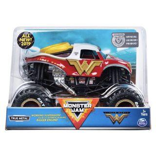 Monster Jam Wonder Woman 1:24 New 2019