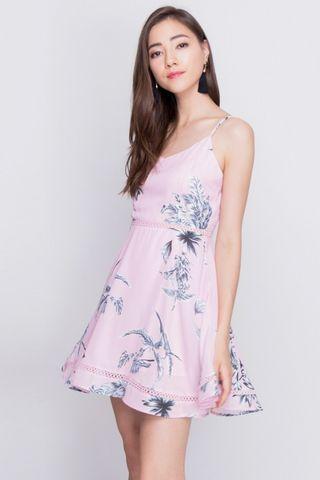 #AmplifyJuly35 Purpur Karina Floral Swing Dress Pink
