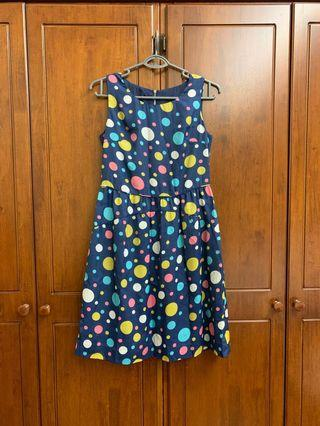 Cute bubble print dress