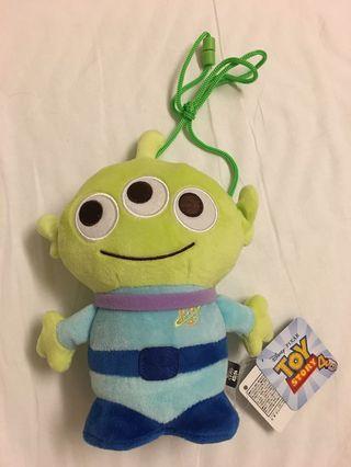 三眼仔toy story Disney 錢包 正品 日本 約22cm高