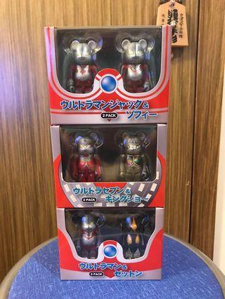 (全新未開封)Bearbrick 100% Ultraman 超人盒裝