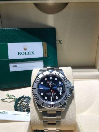 Rolex Yachtmaster 116622 Blue