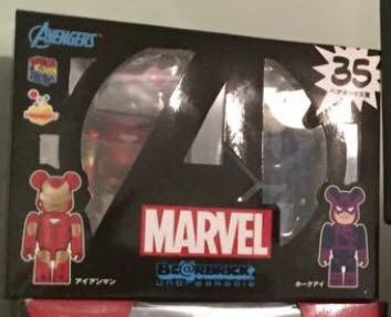(全新未開封)Bearbrick 100% Ironman 盒裝