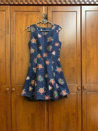 Cute printed dress