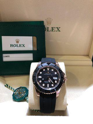 Rolex Yachtmaster 40 116655
