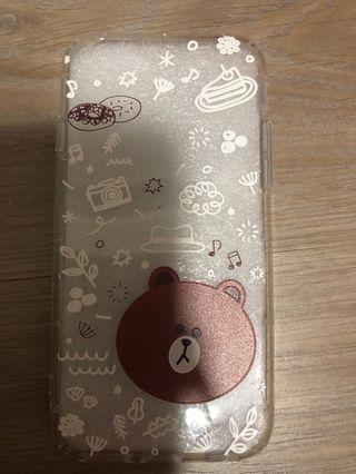 Brand new Iphone6 Line Brown casing