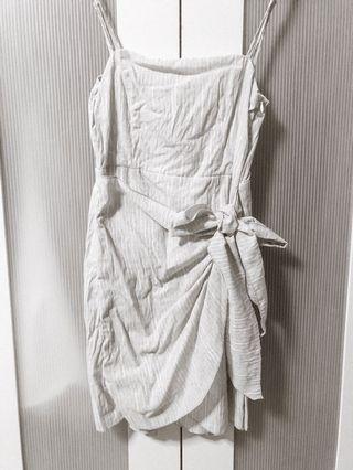 DGF tie dress