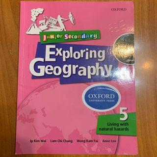 Junior Secondary Exploring Geography OXFORD University Press 5 Living with natural hazards