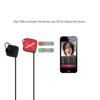 1330) Labvon Bluetooth Headphones M3 Wireless in-Ear Sports Earbuds Sweatproof and Anti-Skid Earphones Noise Cancelling Headsets