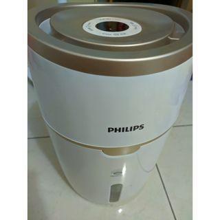 Philips飛利浦加濕器HU4816家用自動濕度納米無霧恆濕臥室靜音孕婦嬰飛利浦加濕器HU4816