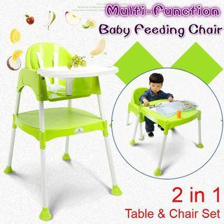 Baby Feeding Chair / Baby High Chair (Blue)