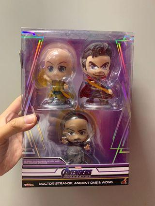 全新 Hottoys hot toys avengers end game cosbaby Dr.Strange set