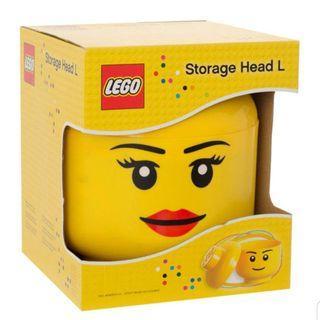 ❌DISCONT❌ Large Lego Head Storage (BOY OR GIRL)
