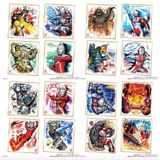 [現貨] Ultraman Skihiski 1 鹹蛋超人/ 鹹旦超人/ 力霸王/超人色紙 Art 1 原盒