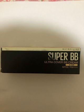 SALE SUPER BB CREAM MAYBELLINE SHADE 01 FAIR/NATURAL NEW PACKAGING