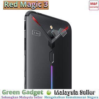 ⓶ⓢⓔⓣ ZTE Nubia Red Magic 3 Camera Protector Flexible Glass