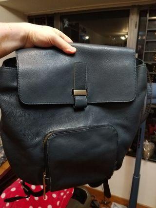 Whistles Portland Backpack 深灰藍色背包