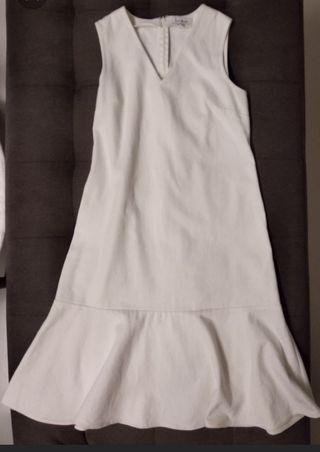 Lb white denim dress