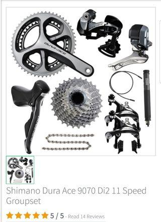 Dura Ace 9070 Di2 Electronic Full Groupset