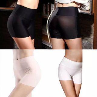 Women Safety Short Pants High Waist Body Underwear Tummy Control Boyshort Shapewear safety short pants women