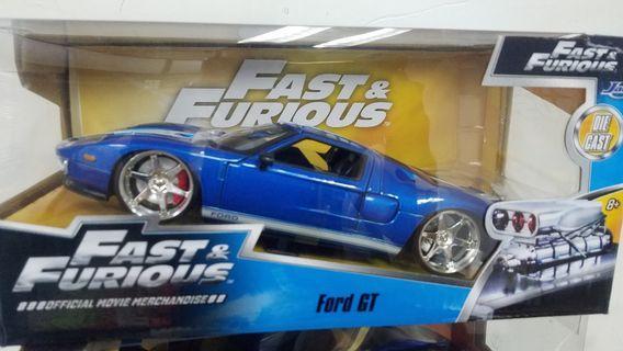 1:24 狂野時速 福特 Ford GT Jada Fast and Furious