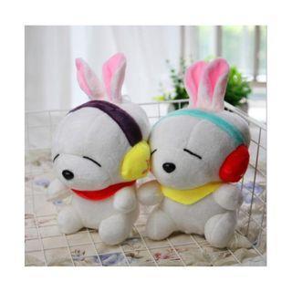 耳機款 流氓兔 18-20cm 毛絨玩具 卡比獸 皮卡丘 伊布 噴火龍 杰尼龜 1689批發【一件代發/代購/集運】