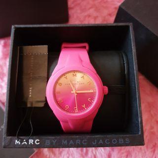 Marc Jacobs Pink Rubber Watch Original #joinjuli