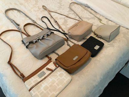 6 barely used bags