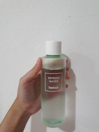 Heimish refresh water