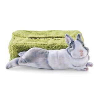 兔兔盒裝紙巾套 (灰白兔)