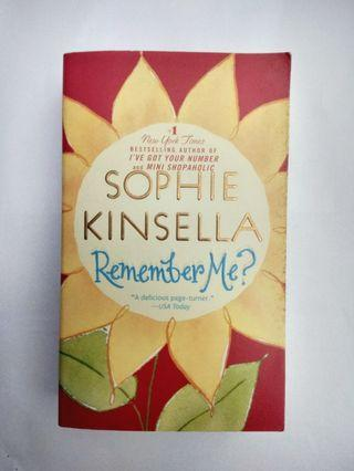 Novel Inggris Original - Sophie Kinsella - Remember Me?