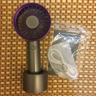 手持風扇-紫色
