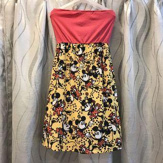 CLEARANCE‼️Mickey Mouse Tube Dress