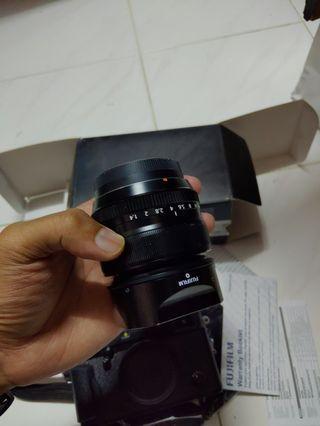 fujinon 35mm 1.4 fuji lens