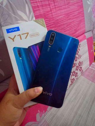 Vivo Y17 blue