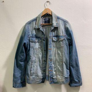 Pull & Bear Blue Denim Jacket #RayaHome