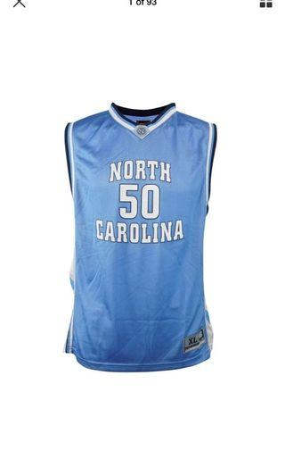 NCAA UNC jersey youth XL