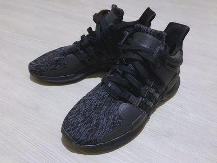 🚚 Adidas EQT support ADV 編織雪花黑 23.5cm