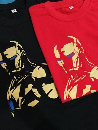 Marvell Hero (Iron man) T-shirt age 7-10