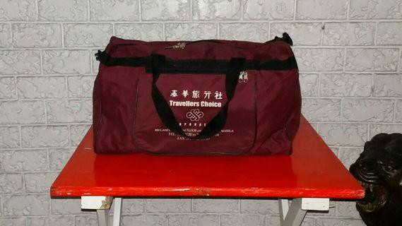 Vintage Travelling or Work Out Bag Merch Item