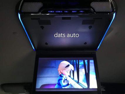 """11""""Super Slim Roof Monitor👍👍👍Rear entertainment system, active subwoofer plus soundproofing done on this wonderful wish! Upgrades mostly for rear passenger enjoyment and additional bass for the daily drive!  Have yous done now!"""