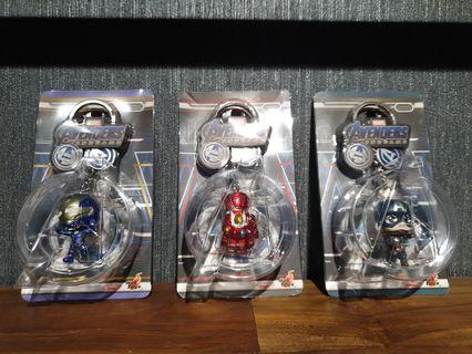 Hot Toys Avengers: Endgame Assorted Cosbaby Keychains MISB
