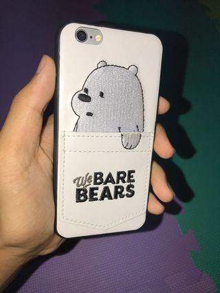 Apple iphone6(熊熊遇見你)手機殼