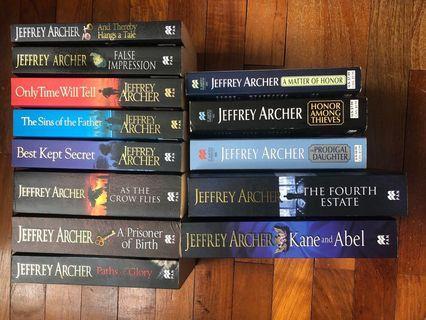 🚚 Jeffrey Archer Books