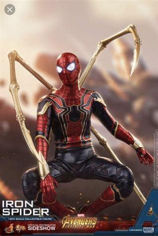 Hottoys iron spider