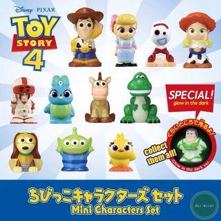 Toy Story 4 指偶公仔 finger puppet toystory4 玩具總動員 胡迪 牧羊女 小叉代購 翠絲 勁爆公爵 賓尼與阿得 抱抱龍 彈簧狗 火腿 巴斯光年 三眼仔 woody buzzlightyear forky bunny ducky 盒蛋