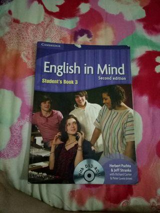 ENGLISH IN MIND SECOND EDITION STUDENTS BOOK 3 +CD
