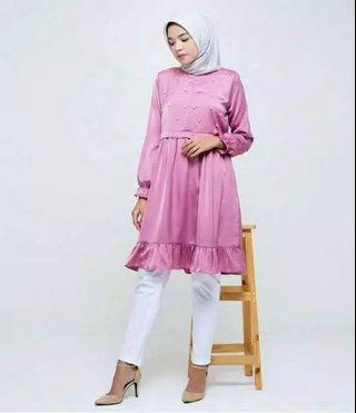 FREE ONGKIR Raisa Tunic by Comfortable Hijab Size S