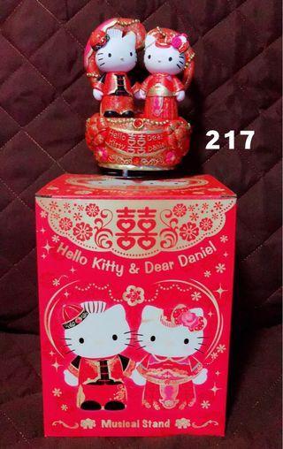 全新正版Hello Kitty中式婚禮音樂盒